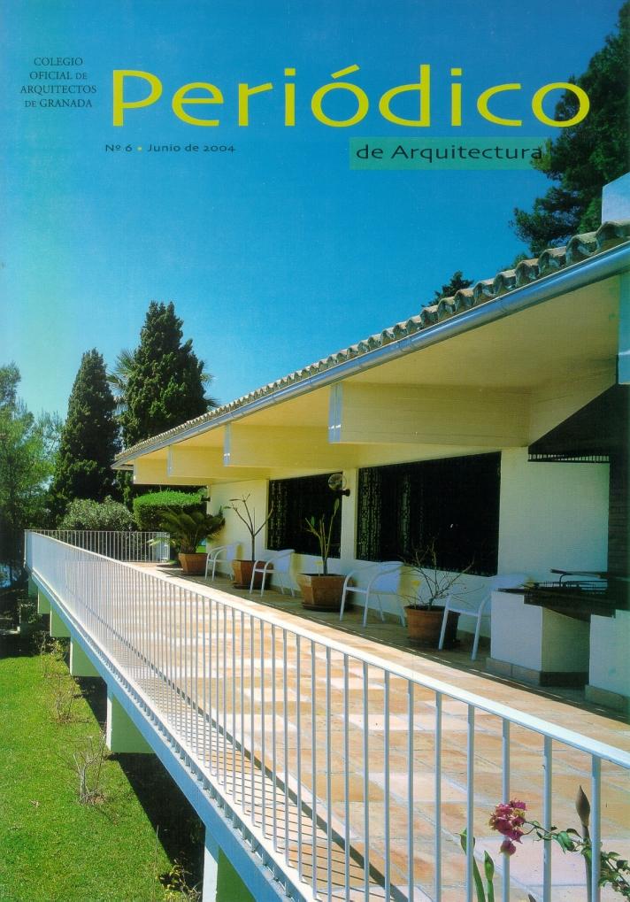 Periódico de Arquitectura nº6. Revista COAGR. Junio 2004